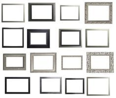 How to Paint Metal Picture Frames