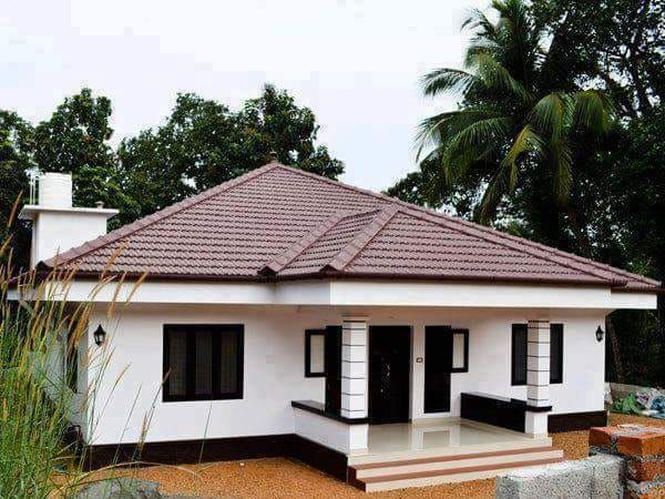 Home Designs | Village house design, Kerala house design, Simple ...