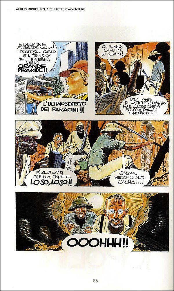 Attilio Micheluzzi. Architetto d'avventure - C. Napoli - Libri