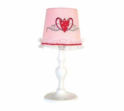 Yakut Asztali Lámpa #gyerekbútor #bútor #desing #ifjúságibútor #cilekmagyarország #dekoráció #lakberendezés #termék #ágy #gyerekágy #yakut #rubin #pink #magenta #lámpa
