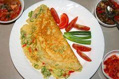Resep telur dadar ala Padang enak dan Mudah.