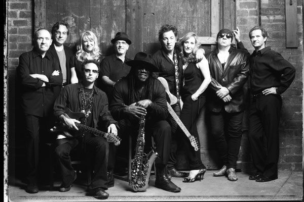 One of my favorite groups of all time. The Boss can rock your socks off!