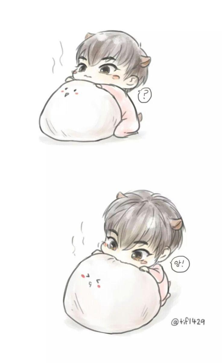sooooo cute xiuchibi!!!!!!! (credits to owner)