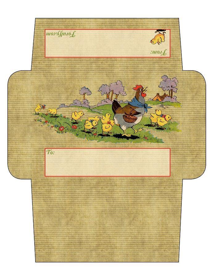 Пример открытки конверта, смайлик доброе утро