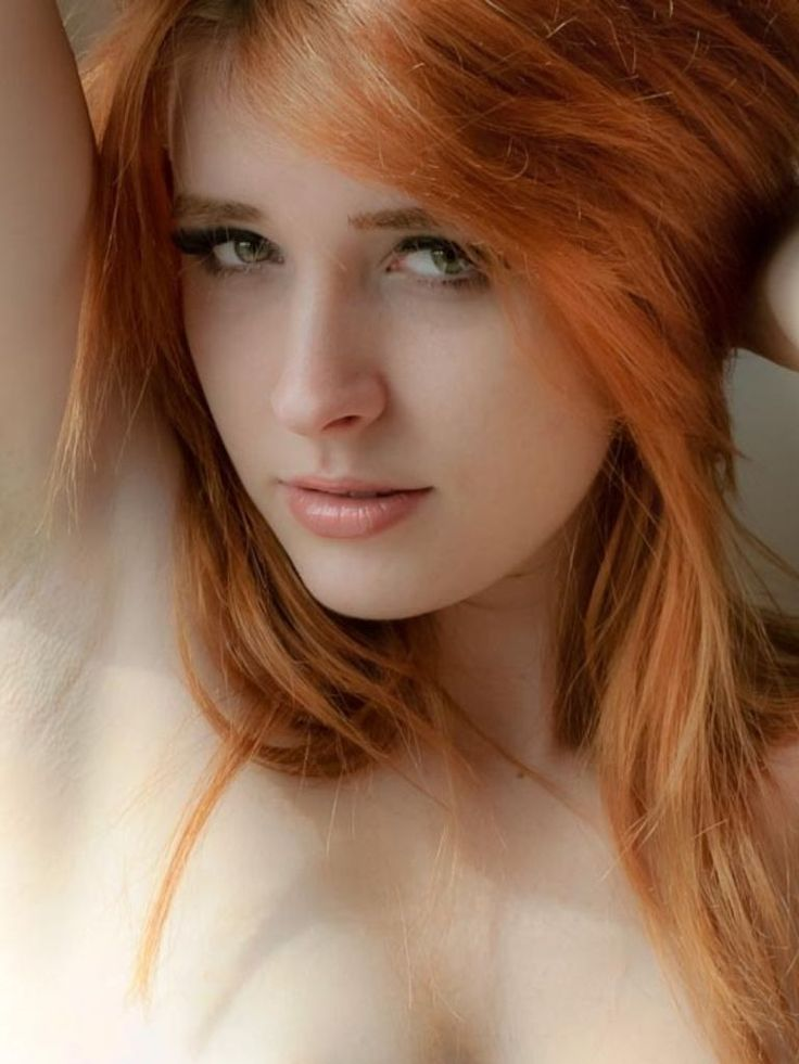 hot naked strawberry blonde heads