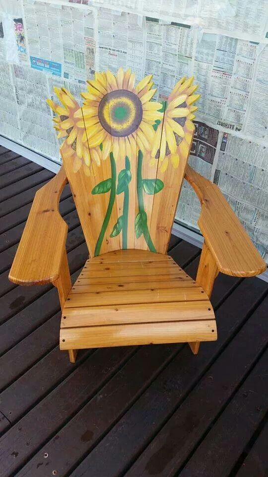 Attirant Sunflower Chair