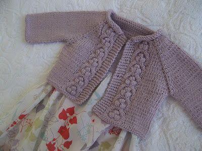 Free knitting pattern: child's sweater