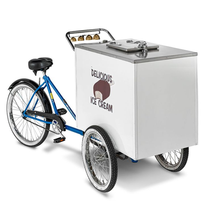 The Genuine Good Humor Ice Cream Cart - Hammacher Schlemmer...Going into business ;)