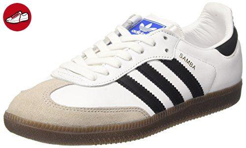 adidas Herren Samba OG Ausbilder, Weiß (Ftwr White/Core Black/Gum), 38 2/3 EU - Adidas sneaker (*Partner-Link)