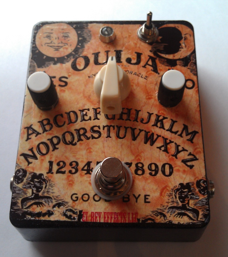 El Rey Effects Ouija Fuzz Guitar Pedal
