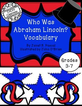 Nonfiction units are essential to young learners. The Who Was, Who Is, Who Were Series is a wonderful way to introduce students to key historical figures. The Who Was Abraham Lincoln? Vocabulary Bundle offers a easy to use system for students to increase their vocabulary knowledge.