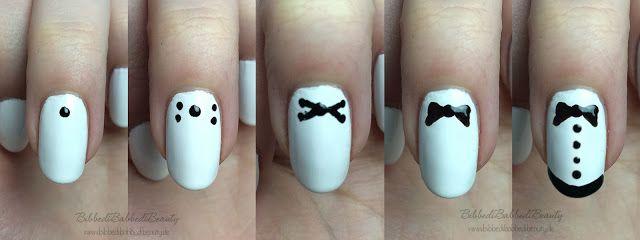 cute nail art: Smoking Nails