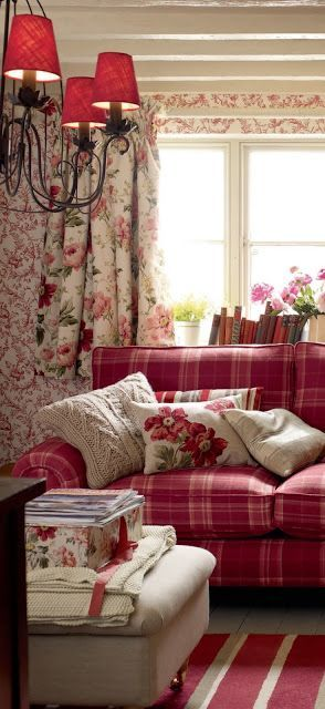 Just Charming~ lovely warm colours this looks so cosy and inviting