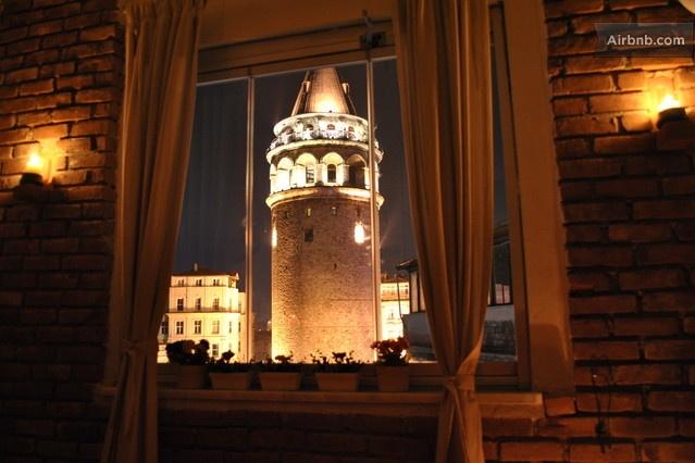 Galata Kulesi (Tower) in Galata, İstanbul, Türkiye