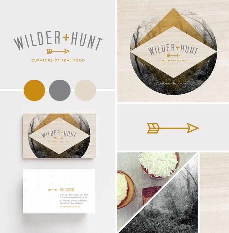 Wilder and hunt branding graphic