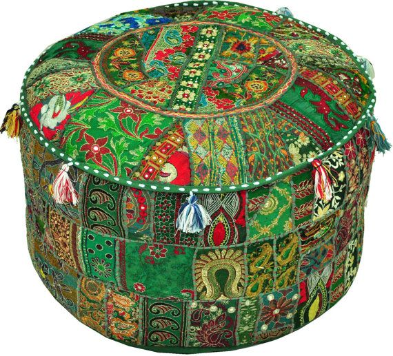 31 Best Indian Bohemian Poufs Storage Ottomans Jaipur