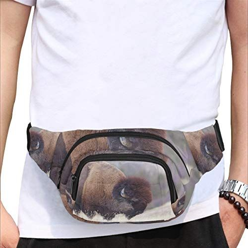 Violent Barbaric Cow Fenny Packs Waist Bags Adjustable Belt Waterproof Nylon Travel Running Sport Vacation Party For Men Women Boys Girls Kids