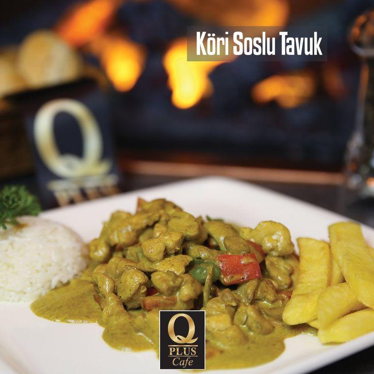 Öğle yemeğinde hiçbir mazeret kabul etmiyoruz, sizi Q Plus lezzet dünyasına bekliyoruz... 🙂 #Qpluscafe #KöriSosluTavuk
