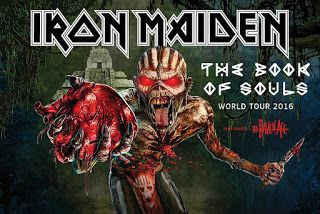 Iron Maiden tickets 2016 (5% discount coupon)  http://usadiscountcodes.arfmedia.com/2015/10/iron-maiden-tickets.html The Book Of Souls World Tour - 2016 #USA #Canada #IronMaiden #shows