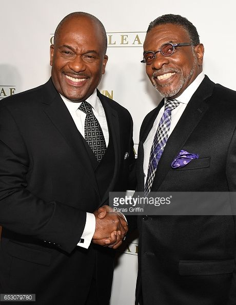 News Photo : GregAlan Williams and Keith David attend...