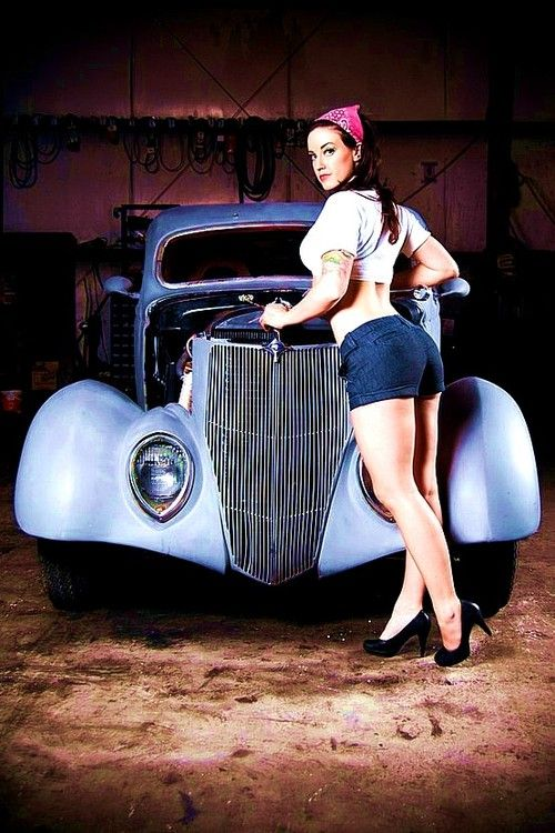 8 best Girls of Hot Rod Deluxe images on Pinterest | Car girls ...