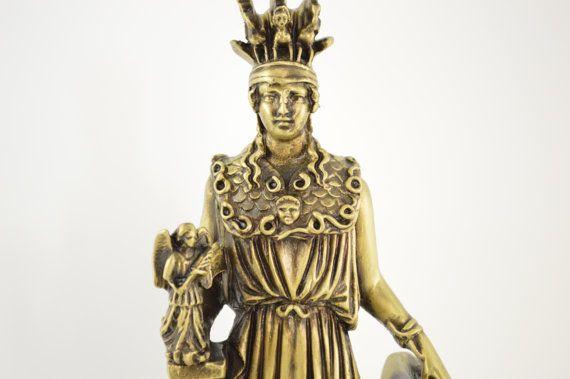 Athena goddess by CraftsAndMetal on Etsy