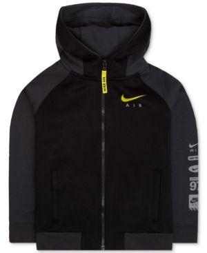 Nike Air Hybrid Jacket, Toddler & Little Boys (2T-7) - Black 3T