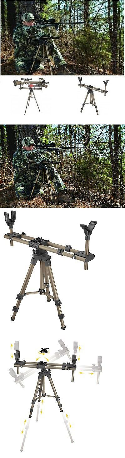 Benches and Rests 177887: Shooting Rest For Rifles Rotating Carbine Hunting Tripod Target Sighting Stand -> BUY IT NOW ONLY: $120.72 on eBay!