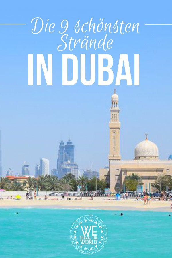 Dubai Tipps: Die 9 schönsten Dubai Strände für eine unvergessliche Dubai Reise #reisetipps #strände #dubai