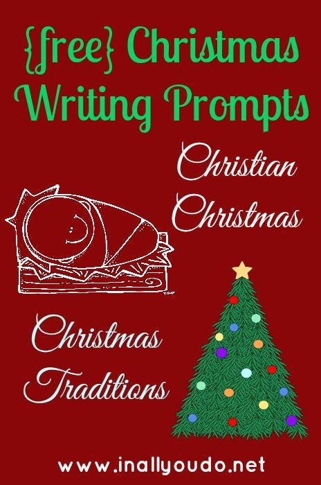 FREE Christmas Writing Prompts - Frugal Homeschool Family