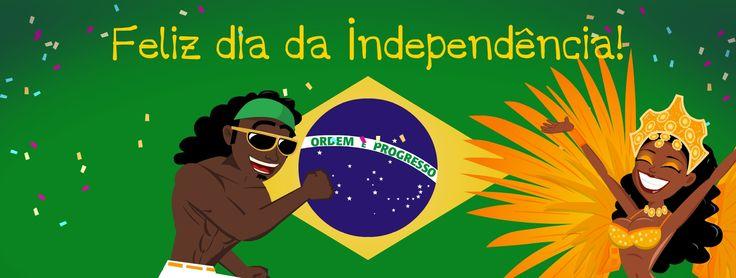 Feliz Dia da Independência Brasil! Follow us on Twitter @Funmoods