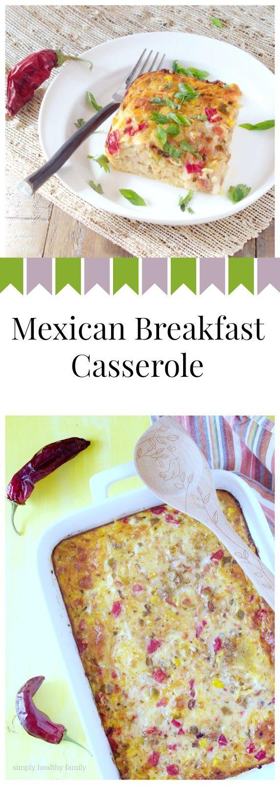 Mexican Breakfast Casserole SundaySupper
