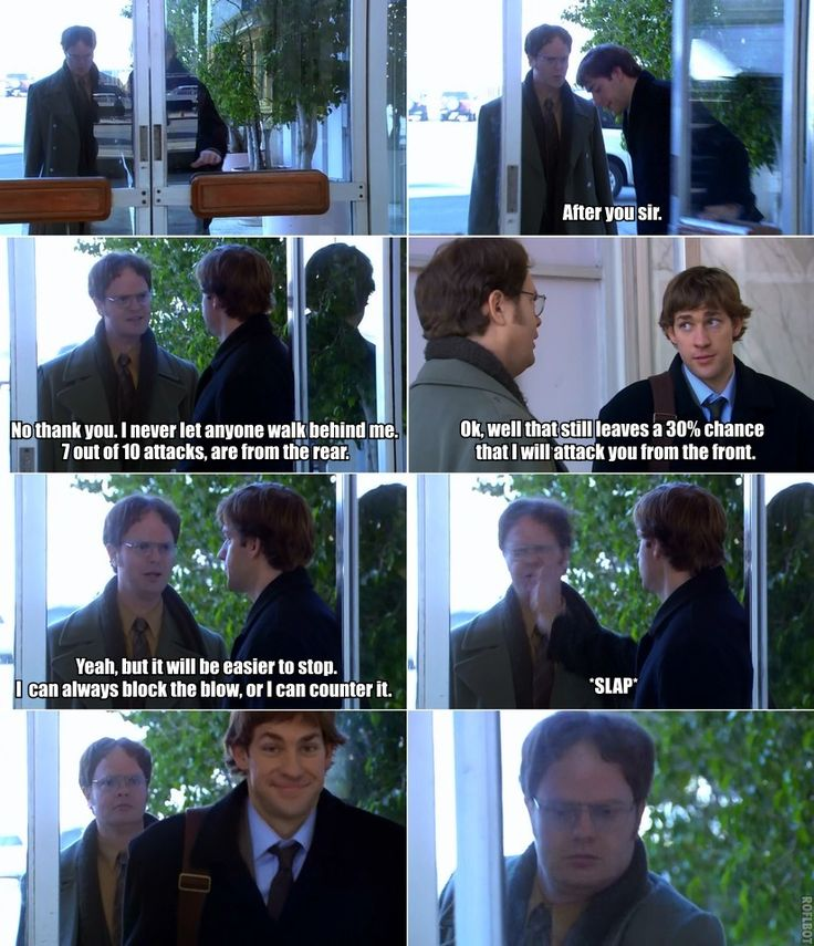 Jim and Dwight ~ The Office