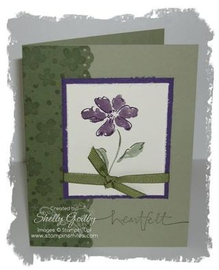 Stamping Smiles: Always Heartfelt with a Stampin' Up! Hand-Stamped Card