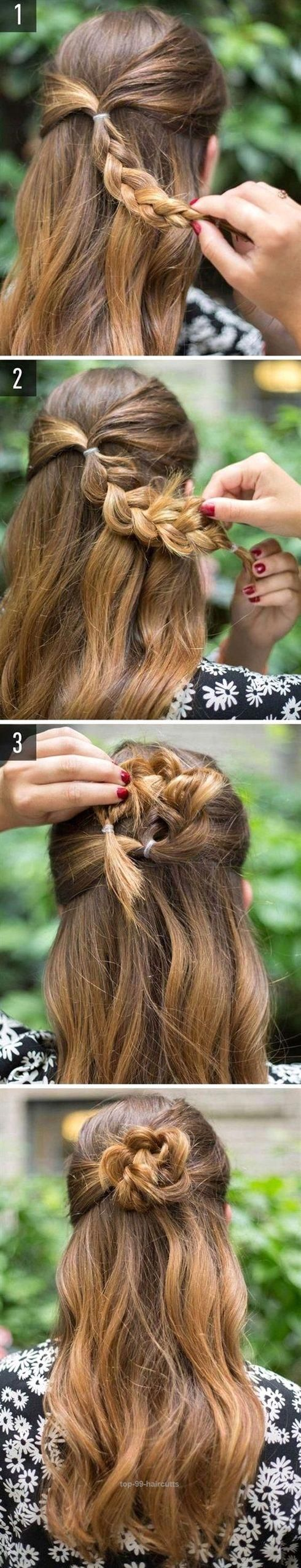 Terrific easy hairstyles for schools to try in quick easy