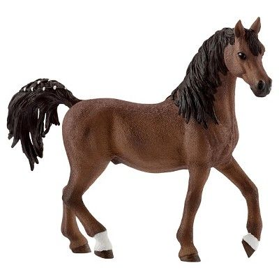 Schleich Horse Club Arabian Stallion, Mare, and Foal (3 pack),