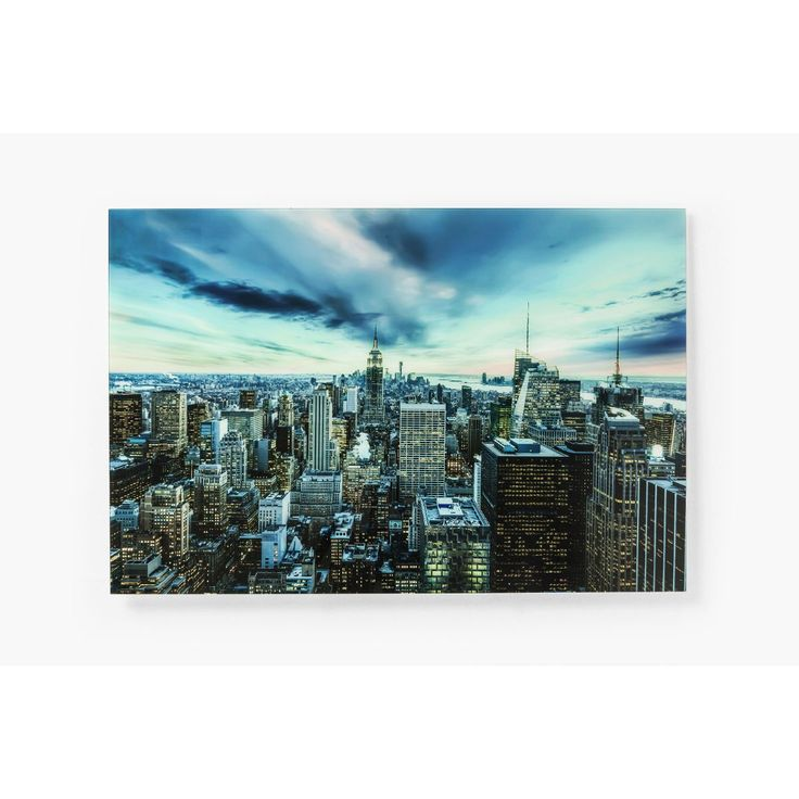 Πίνακας Glass New York Sunset 160x120cm  €430