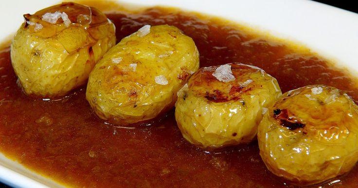 Cocinar para los amigos: Patatas asadas con salsa española