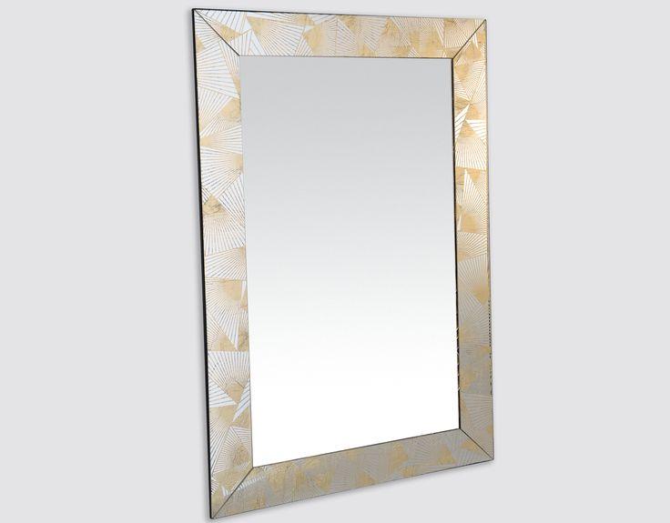 Midica Art Déco   Miroir doré