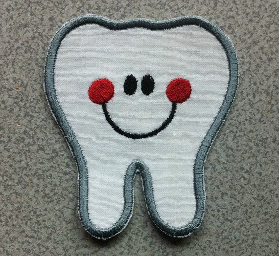 Silver Tooth  Tooth Fairy Costume  Tooth Applique  by 4PennyGirl