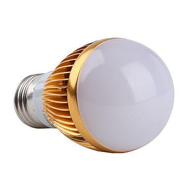 E27 3v 270lm 3000-3500K varmvitt ljus ledde ball glödlampa (85-265V) – SEK Kr. 38
