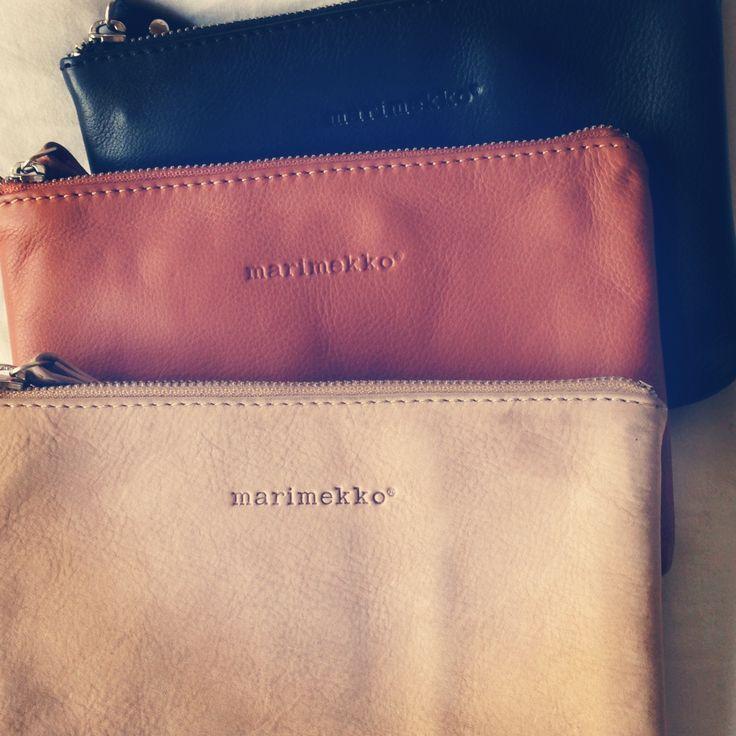 marimekko leather purses
