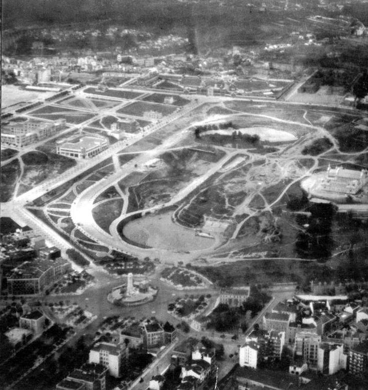parque eduardo Vll ao tempo da implantação da républica (?) -1910