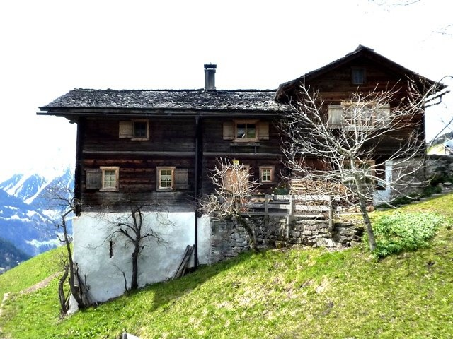 old house in Montafon, Austria
