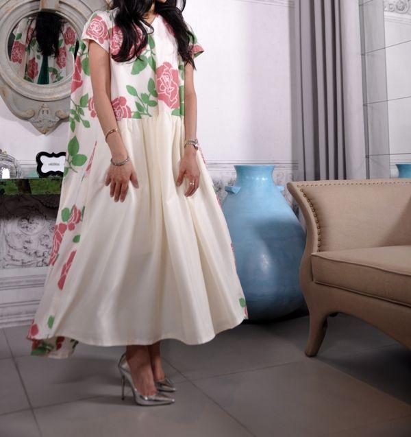 Floral dress Meblogging style