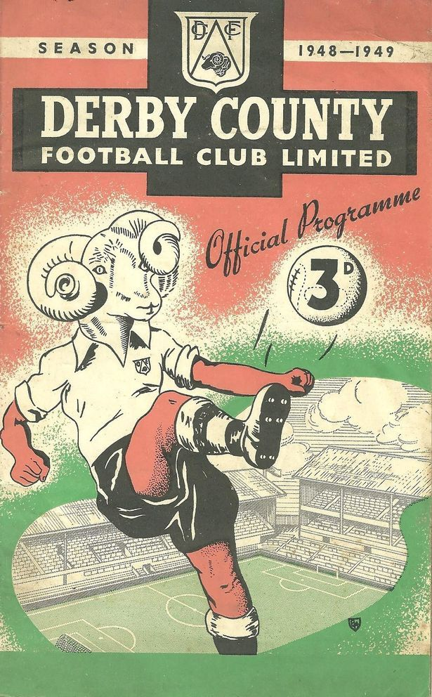 The match programme from Derby County v Southport FC in the FA Cup third round on January 8, 1949