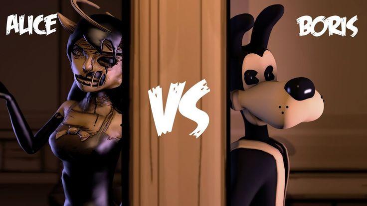 SFM BATIM Alice Angel vs Boris Rap Battle Rockit Gaming