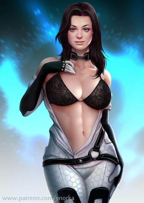 Miranda by ynorka.deviantart.com on @DeviantArt - More at https://pinterest.com/supergirlsart/ #mass #effect #masseffect #me #lawson #sexy #fanart