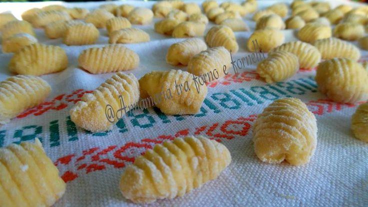 Gnocchi con la zucca - Ricette Blogger Riunite