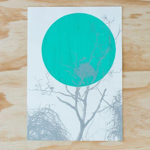 'Jabiru' A2 Print